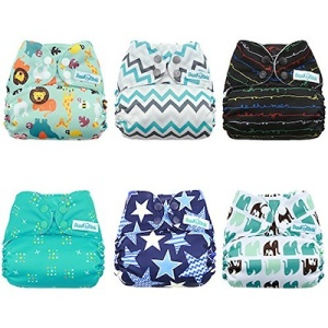 We love these cloth diapers